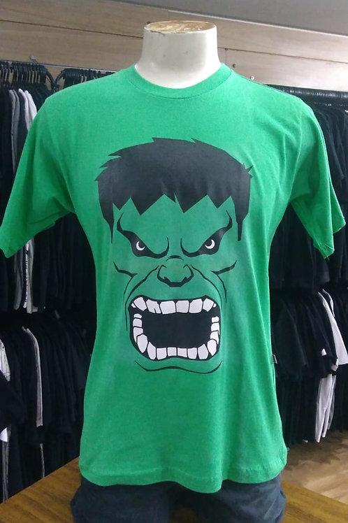 Camiseta Hulk Show Malhas Verde HISM01