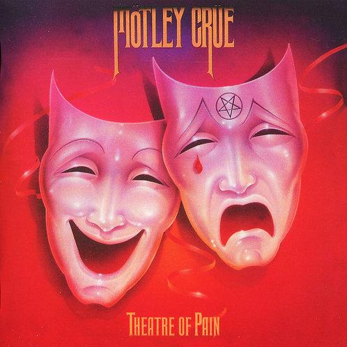 Cd Motley Crue Theatre Of Pain Novo Deslacrado