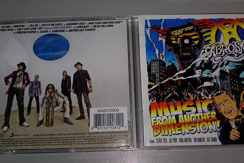 Cd Usado Aerosmith Music From The Another Dimension