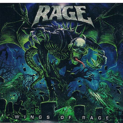 Cd Rage Wings Of Rage