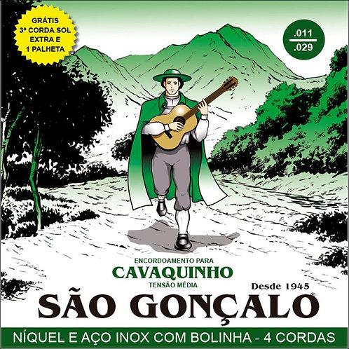 Encordoamento São Gonçalo Cavaquinho .011