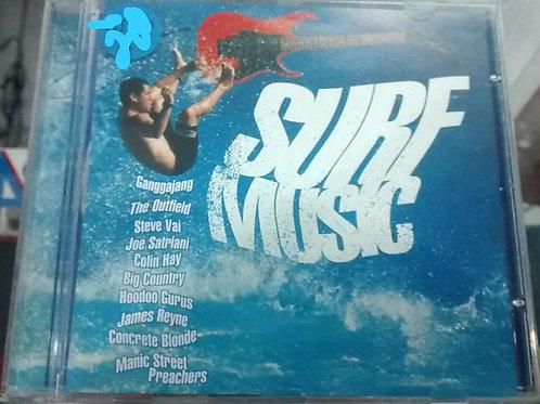 Cd Usado Surf Music Som Livre Coletânea