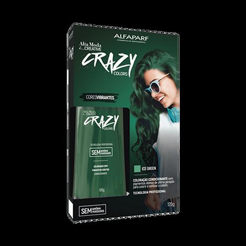 Tinta Alfaparf Ice Green 120g Crazy Colors 5866