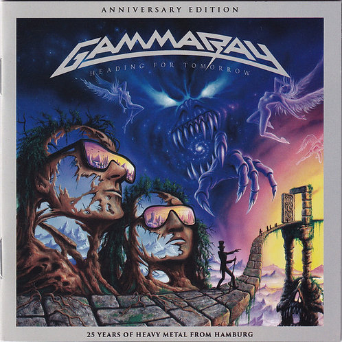 Cd Gamma Ray Heading For Tomorrow Anniversary Edition 25 yea
