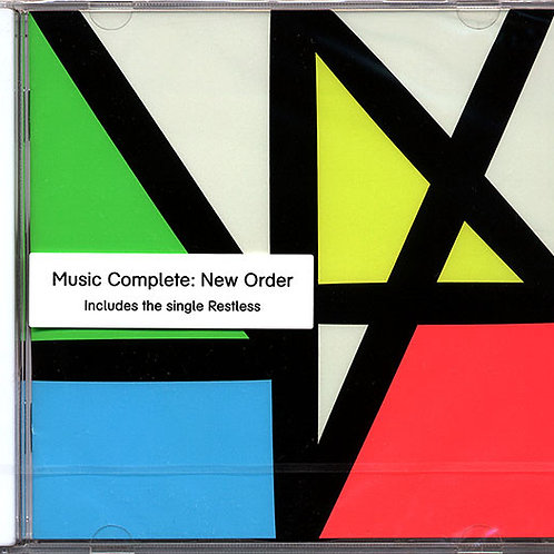 Cd New Order Music Complete