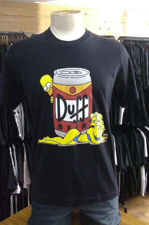 Camiseta Cerveja Duff Os Simpsons DUF01