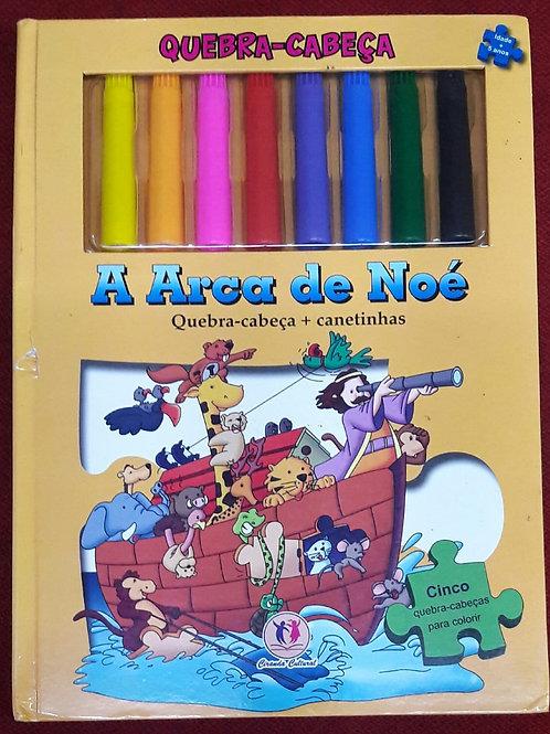 Livro A Arca De Noé Quebra-cabeça  Ice Water Press  4022