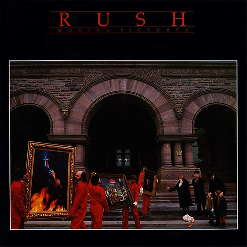 Cd Rush Moving Pictures Importado Argentina