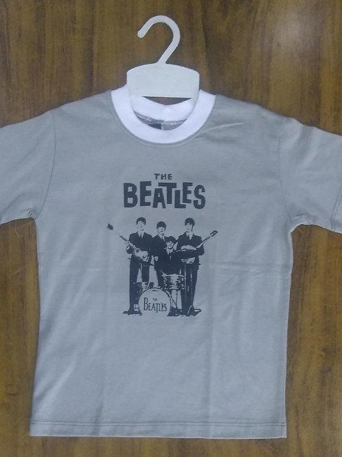 Camiseta Infantil Beatles Cinza CIBS10
