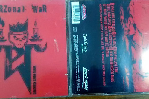 Cd Usado Perzonal War When Times Turn Red