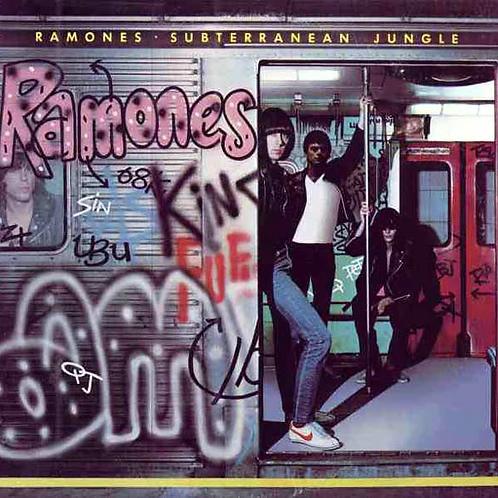 Cd Ramones Subterranean Jungle IMPORTADO