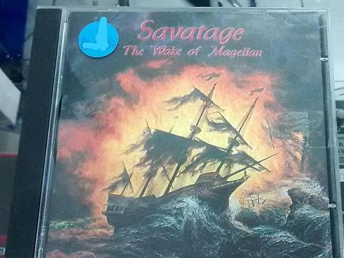 Cd Usado Savatage The Wake Of  Magellan