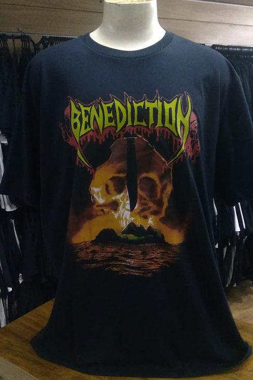 Camiseta Plus Size Benediction Subconscious Brutal BBZS01