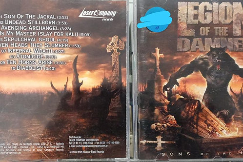 Cd Usado Legion Of The Damned  Sons of the Jackal