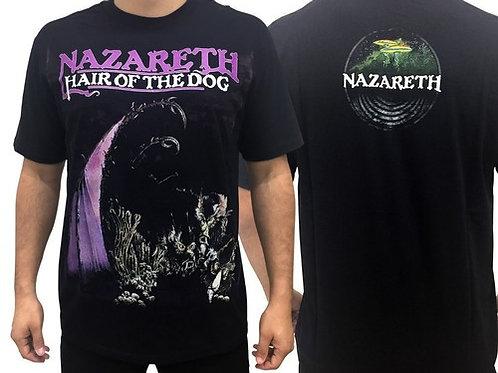 Camiseta Nazareth Hair Of The Dog Consulado do Rock E1368