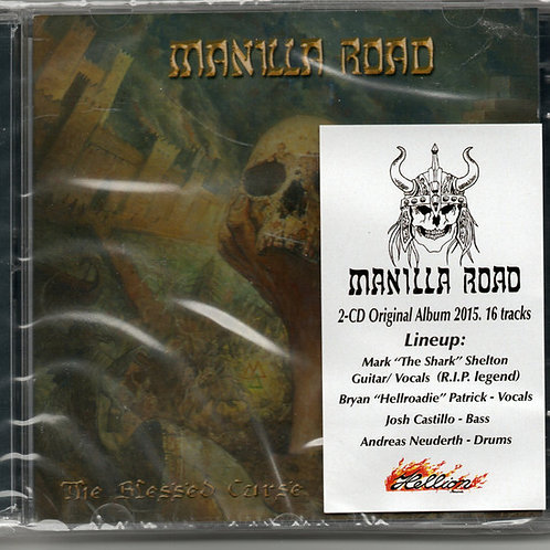 Cd Manilla Road The Blessed Curse Duplo