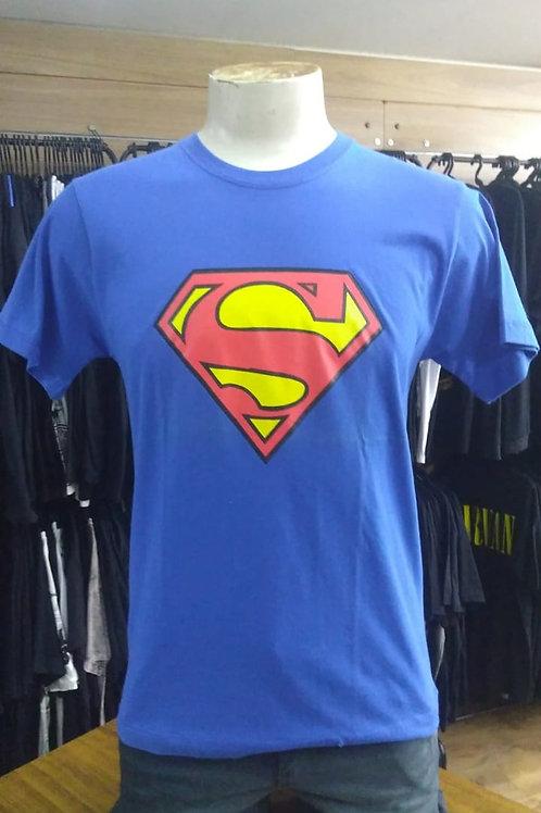 Camiseta Super Man Azul El Elyon EESML01