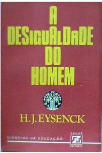 Livro Usado A Desigualdade Do Homem  H. J. Eysenck  1203