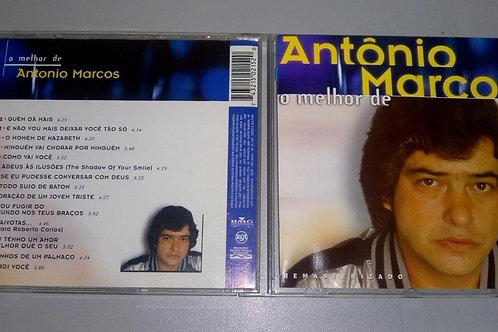 Cd Usado Antonio Marcos O Melhor de Antonio Marcos