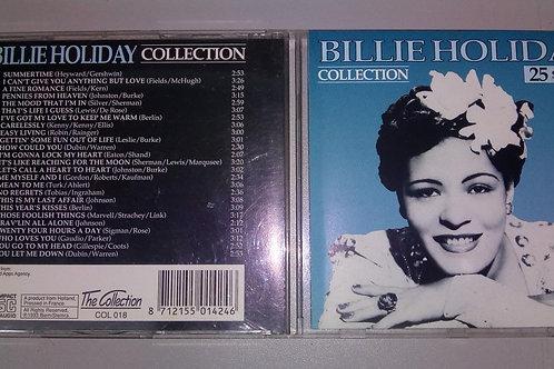 Cd Usado Billie Holiday Collection 25 Songs Importado