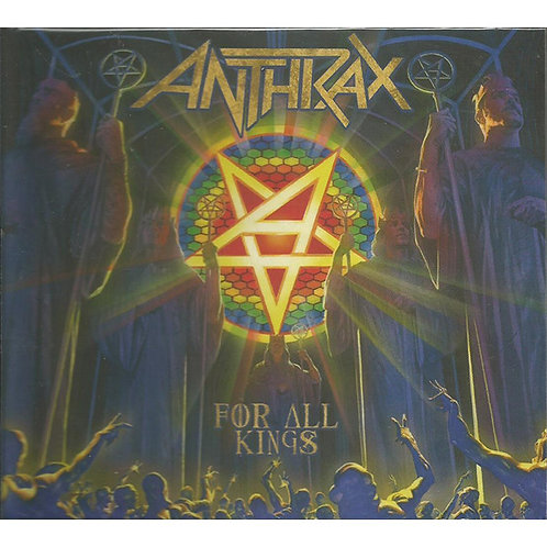 Cd Anthrax For All Kings Duplo Novo Lacrado
