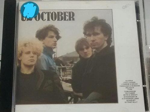Cd Usado U2 October