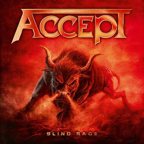 CD DVD Accept Blind Rage Live in Chile