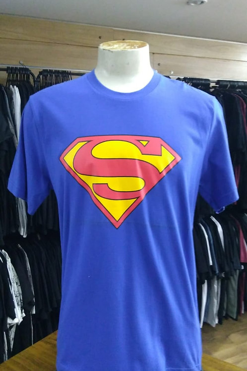 Camiseta Super Man Azul Bomber BSML01