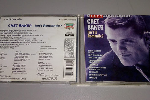 Cd Usado A Jazz Hour With Chet Baker Isnt It Romantic