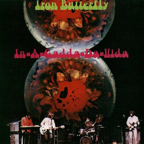 Cd Iron Butterfly In A Gadda Da Vida