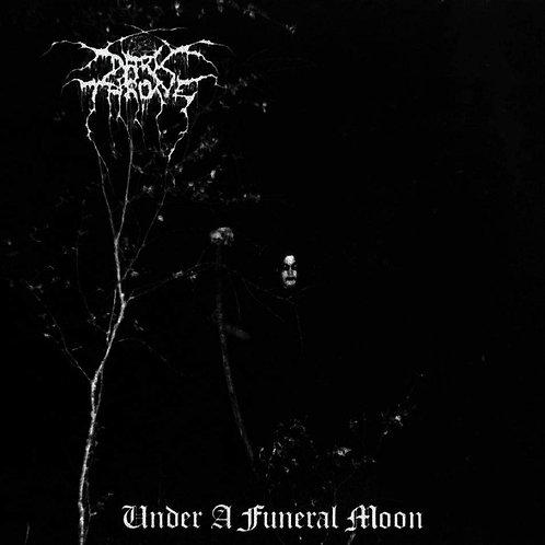 Cd Dark Throne Under a Funeral Moon Slipcase