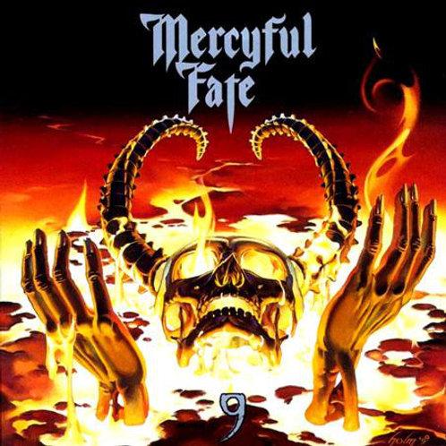 Cd Mercyful Fate 9 Slipcase