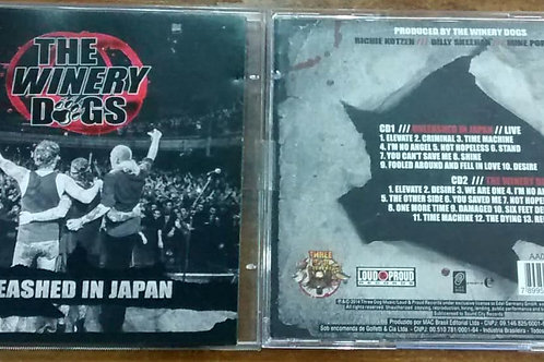 Cd Usado The Winery Dogs Unleashed in Japan