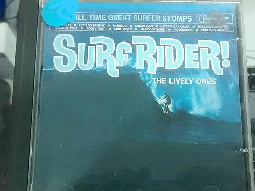 Cd Usado Surf Rider The Lively Ones