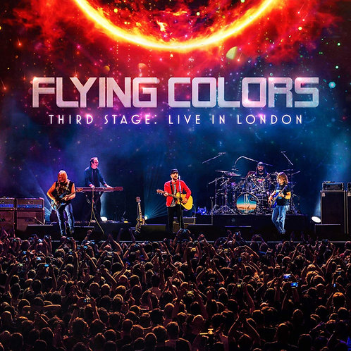 CD DVD Flying Colors Third Stage Live London Duplo Digipack