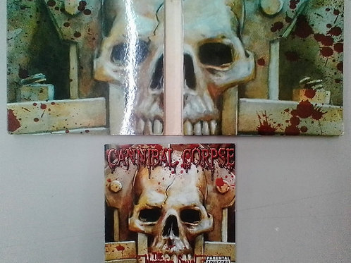 CD DVD Usado Cannibal Corpse The Wretched Spawn Duplo IMP