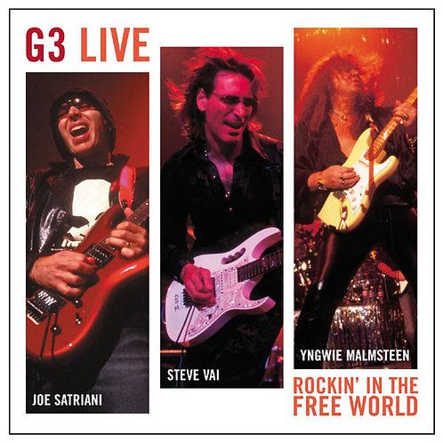 Cd G3 Live J. Satriani S. Vai Yngwie Malmsteen
