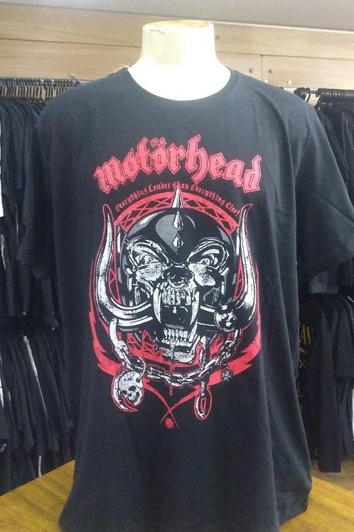 Camiseta Plus Size Motorhead Snagle Tooth BTCM496