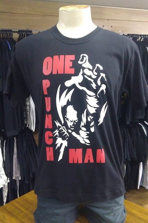 Camiseta One Punch Man Rock Wear OPM01