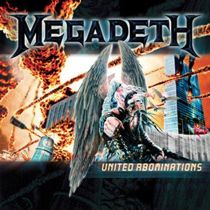 Cd Megadeth United Abominations
