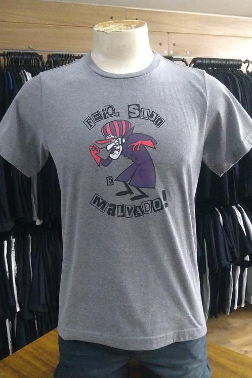 Camiseta Dick Vigarista Cinza DV001