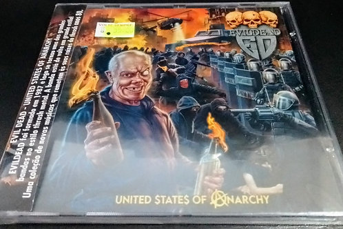Cd Evildead United States Of Anarchy
