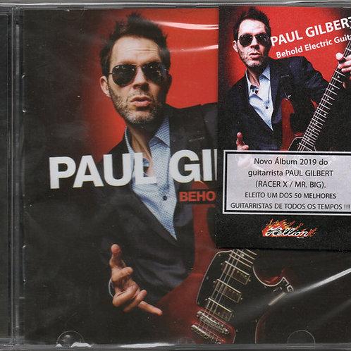 Cd Paul Gilbert Behold Eletric Guitar