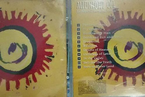 Cd Usado Midnight Oil Earth An Midnight Oil