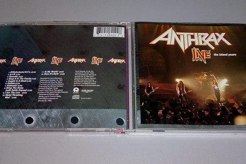 Cd Usado Anthrax Live The Island Years Importado