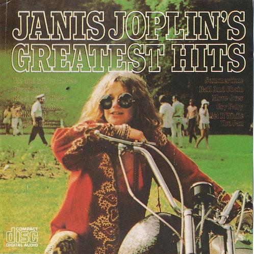 Cd Janis Joplin Janis Joplins Greatest Hits