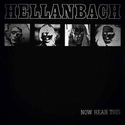 Cd Hellanbach Now Hear This Slipcase Bônus