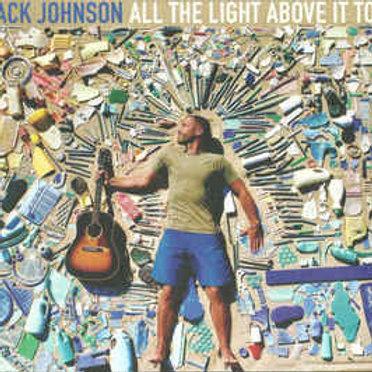 Cd Jack Johnson All The Light Above It Too Digipack