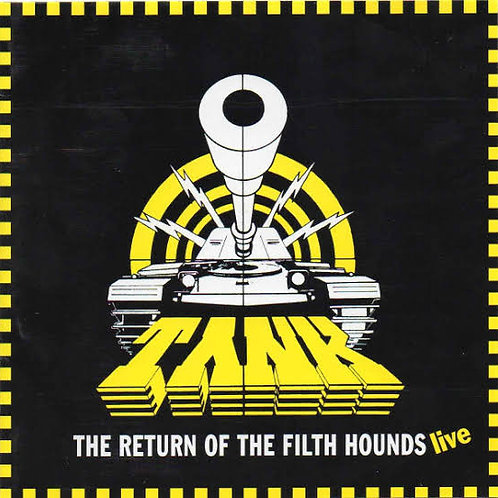 Cd Tank The Return Of The Filth Hounds Live