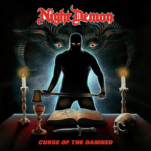 Cd Night Demon Curse Of The Damned
